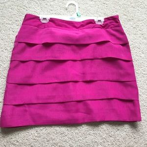 The Limited pink skirt
